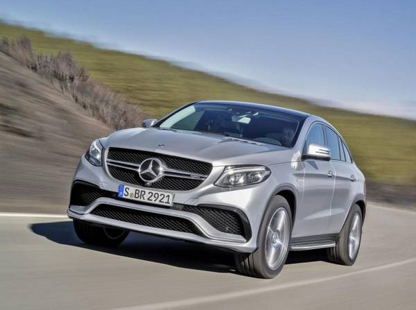Mercedes-Benz GLE 63 AMG S Coupe - конкурент BMW X6 M - фото