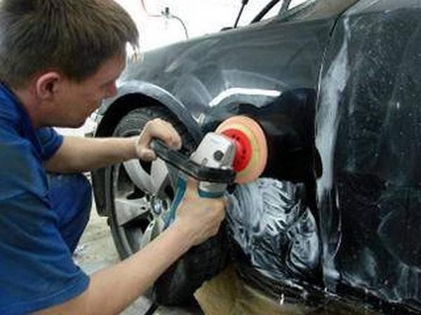 Полировка автомобиля после покраски своими руками - фото