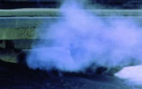 из фото трубы дым выхлопной синий